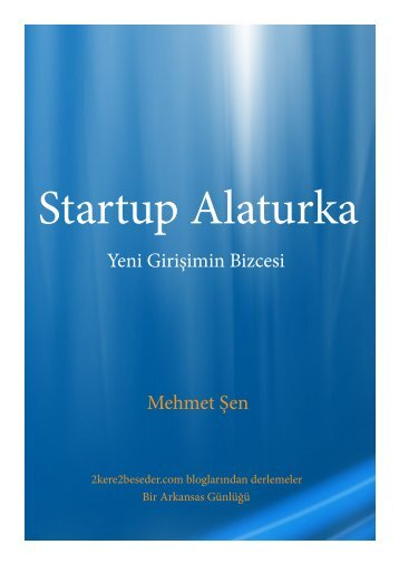Startup Alaturka