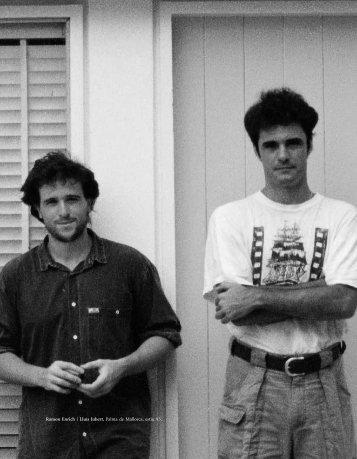 Ramon Enrich i Lluís Jubert Palma de Mallorca estiu 93