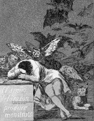 El sueño de la razón produce Monstruos Capricho núm 43 Goya