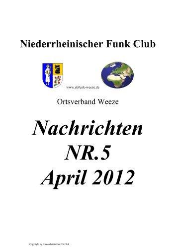 Nachrichten NR. 5 - Euro-Funker
