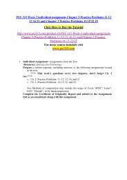PSY 315 Week 3 individual assignment Chapter 2 Practice Problems 11 12 13 16 21 and Chapter 3 Practice Problems 14 15 22 25
