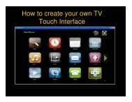 How to create your own TV Touch Interface