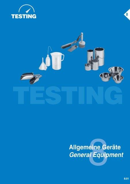 Allgemeine Geräte General Equipment