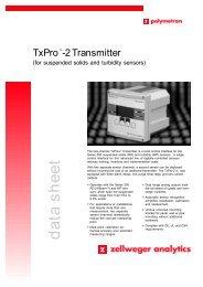 data sheet TxProTM-2 Transmitter - oleinitec.se