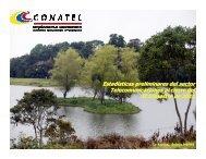 Presentación de los resultados del sector II trimestre 2011 - Conatel