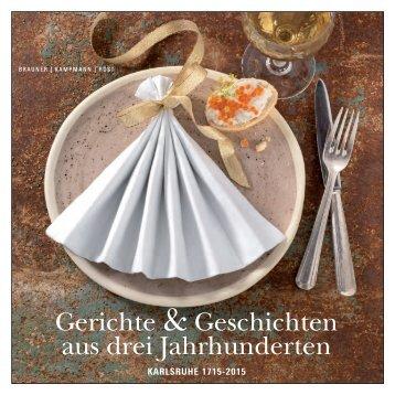 Gerichte & Geschichten aus drei Jahrhunderten