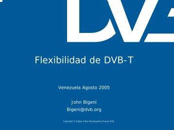 Flexibilidad de DVB-T