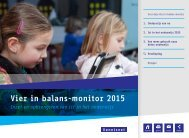 Vier in balans-monitor 2015