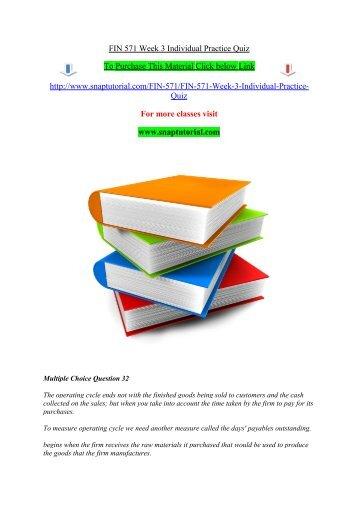 Fin 571 week 5 individual practice quizpdf fin 571 week 3 individual practice quiz snaptutorial fandeluxe Gallery