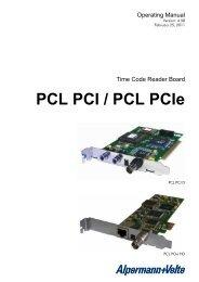 PCL PCI / PCL PCIe