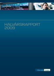 HALVÅRSRAPPORT 2009