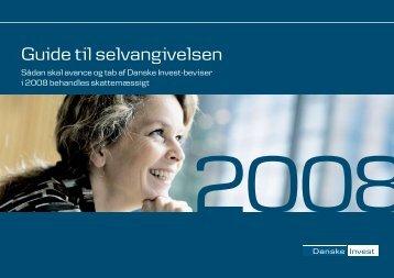 Guide til selvangivelsen - Danske Invest