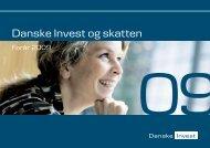 Danske Invest og skatten