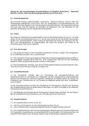 IberoCultura - Spanische Sprache, Literatur und - Romanisches ...