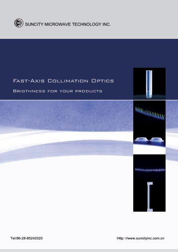 Fast-Axis Collimation Optics