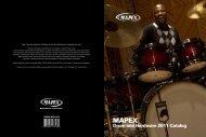 Drum and Hardware 2011 Catalog - Mapex