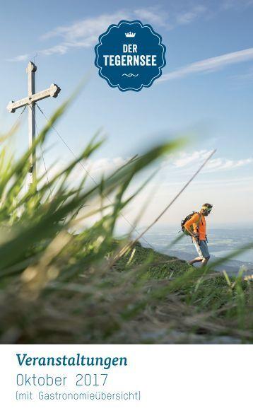 Veranstaltungskalender der Ferienregion Tegernsee