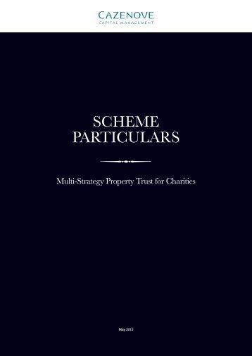 SCHEME PARTICULARS
