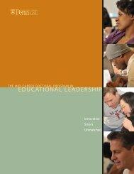 Mid-Career Program Open House - Penn GSE - University of ...