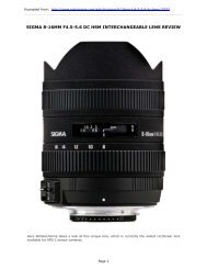 SIGMA 8-16MM F4.5-5.6 DC HSM INTERCHANGEABLE LENS REVIEW