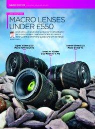 macro lenses under £550