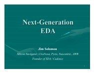 Next-Generation EDA - Synopsys