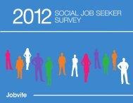 2012SOCIAL JOB SEEKER SURVEY - Jobvite