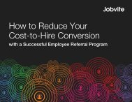 How to Reduce Your Cost-to-Hire Conversion