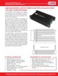 LAptop Power adaPters - Lind Electronics - Page 7