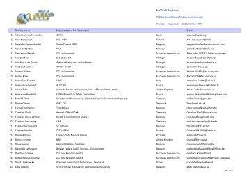 Participants list - Faculdade de Engenharia da Universidade do Porto