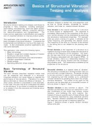 Basics of Structural Vibration Testing and Analysis - Cal Poly San ...