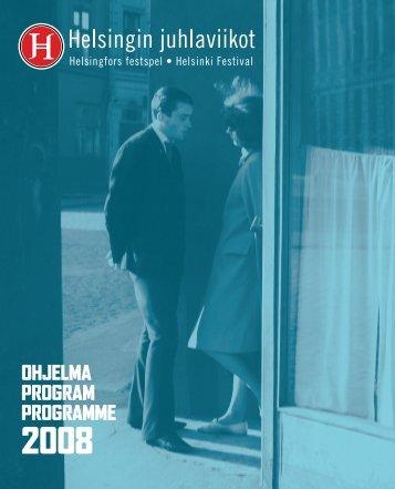 Helsingin juhlaviikot ohjelma 2008 - Helsinki-Tallinna seura ry