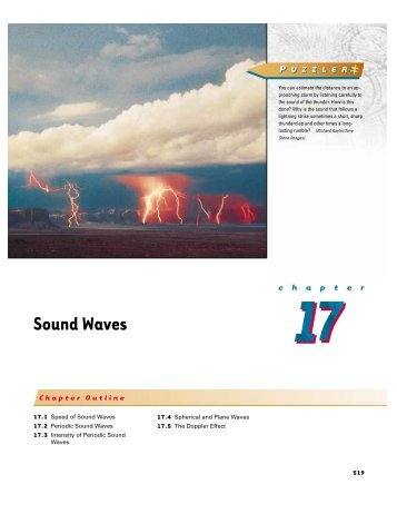 Intensity of Periodic Sound Waves