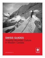 SWISS GUIDES - Tourism Golden