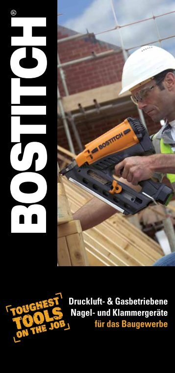Bostitch Katalog Baugewerbe