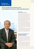 Corporate Social Responsibility Report 2010 Emphasizing the ... - Page 6