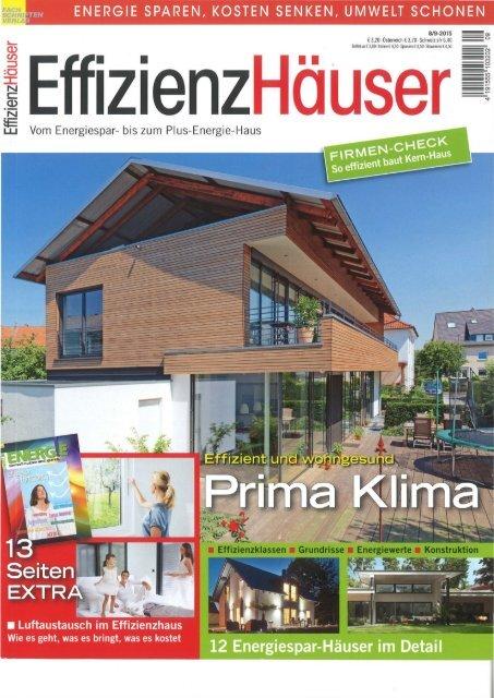 Magazin: Effizienzhäuser, Firmen-Check Kern-Haus