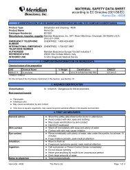 MSDS for Hemo-De - 4636 Eng 04-15-06 EU.pdf - Dynex