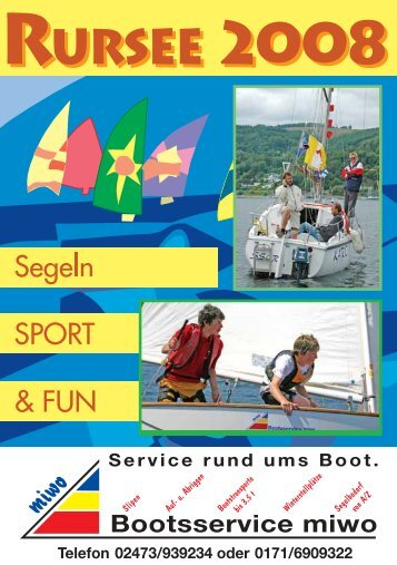 Cup - Segelsportclub - Rursee eV