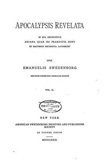 Emanuel Swedenborg Pdf
