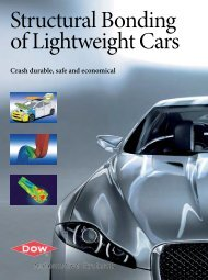 Structural Bonding of Lightweight Cars - Dow Automotive Systems