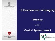 E-Government in Hungary