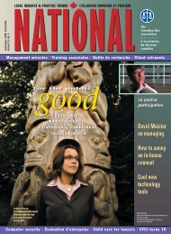 National (English) - July/August 2012