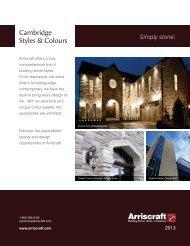 Cambridge Styles & Colours