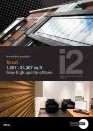 To Let 1,557 - 34,307 sq ft New high quality offices