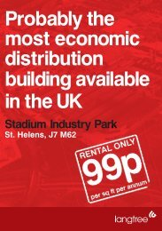 most economic distribution building available in the UK