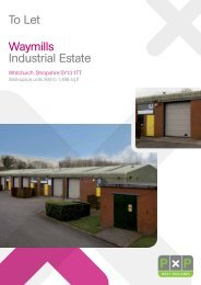 To Let Waymills Industrial Estate