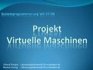 3. Vor- und Nachteile Virtueller Maschinen