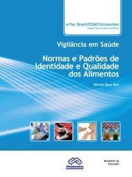 Normas e Padrões de Identidade e Qualidade dos Alimentos
