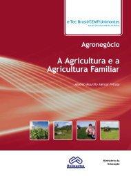 A Agricultura e a Agricultura Familiar - CEAD - Unimontes